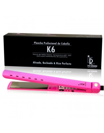 K6 Iron Irene Rios professional straightening or curling iron